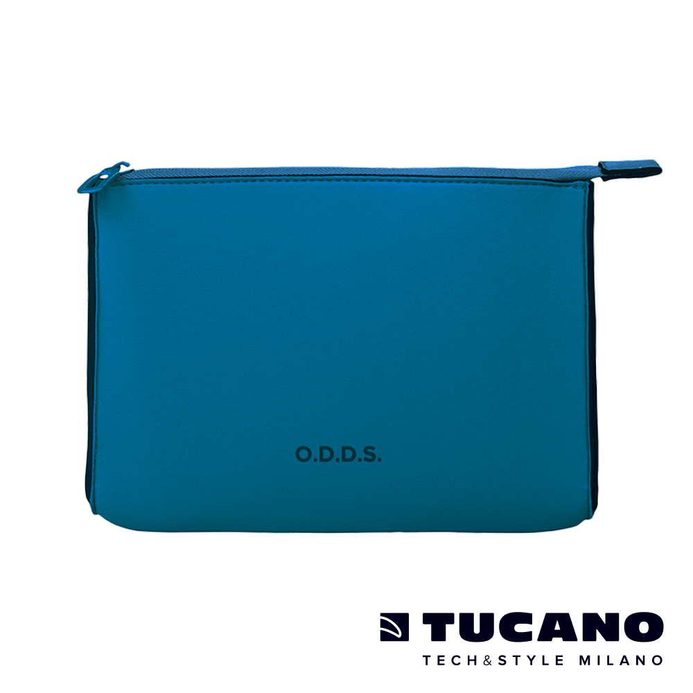 TUCANO X O.D.D.S. 潛水布防水多用途中型手拿包 M-藍