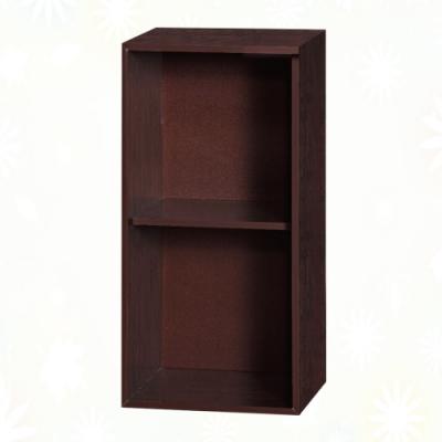 文創集 蘇菲亞 環保1.3尺南亞塑鋼開放二層置物櫃/收納櫃-40x31x80cm免組