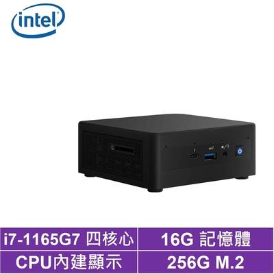 Intel NUC平台i7四核{金刀領主II} 迷你電腦(i7-1165G7/256G M.2 SSD)
