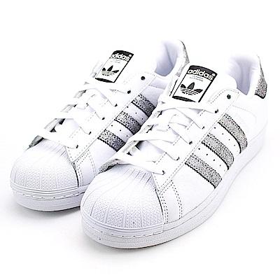 ADIDAS-女休閒鞋CG5455-白銀