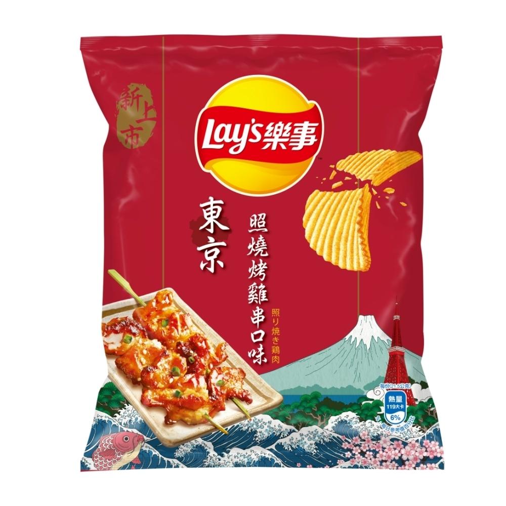 樂事波樂 東京照燒烤雞串味洋芋片(43g/包)
