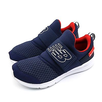 New Balance  跑鞋 中大童 跑步鞋-POPRESNV-W