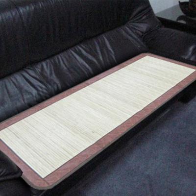 范登伯格 - 仲夏頌 天然竹子三人坐墊-竹絮(50x160cm)