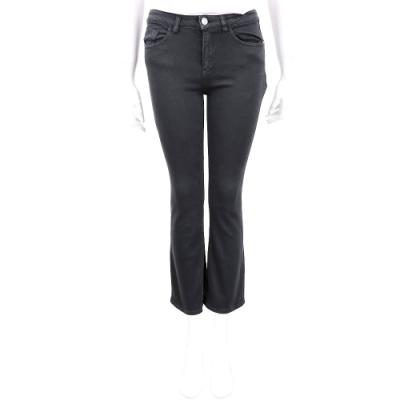 PINKO 黑色微彈性修身喇叭牛仔褲