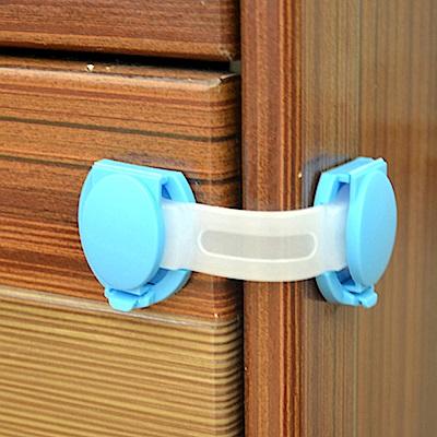 8入安全鎖抽屜鎖軟鎖-寶寶櫃門鎖短鎖