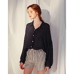 Shester55-泡泡袖設計襯衫(兩色)-女【TSH097】
