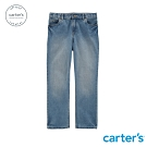 Carter's台灣總代理 淺藍刷色牛仔長褲