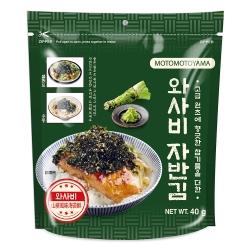 元本山 MOTOMOTOYAMA韓國海苔酥 山葵風味(40g)