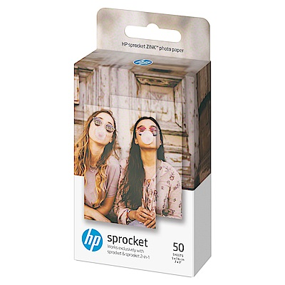 HP Sprocket Zink 2x3 50張 原廠相紙