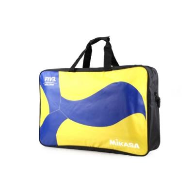 MIKASA 排球袋6顆裝 藍黃黑