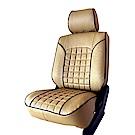 【葵花】量身訂做-汽車椅套-日式合成皮-開運格子C-休旅車9人座1-3排