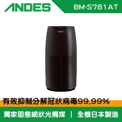 ANDES 22~24坪 Bio Micron空氣清淨機 BM-S781AT 日本原裝