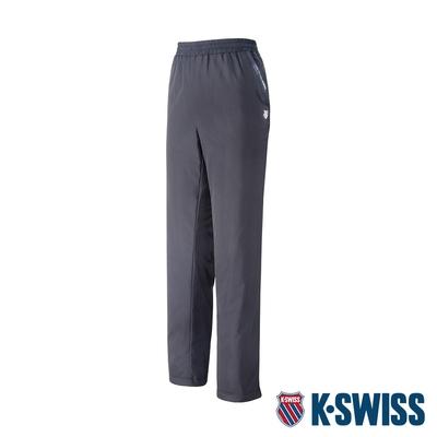 K-SWISS Sloid Track Pants 2防風長褲-女-黑
