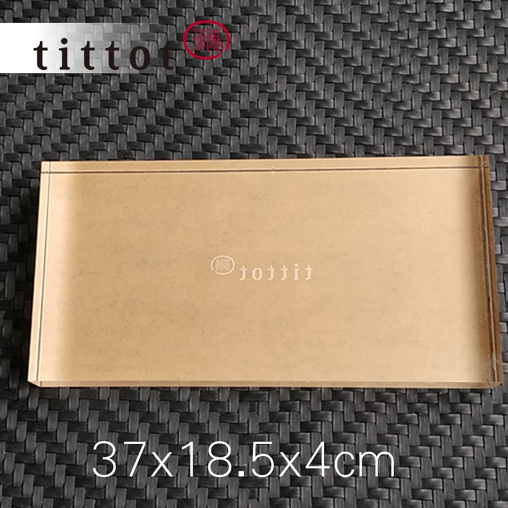琉園tittot 壓克力底座_37x18.5x4cm大長 3件組