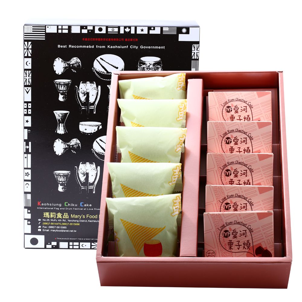 Mary's Food 綜合禮盒A(10粒)