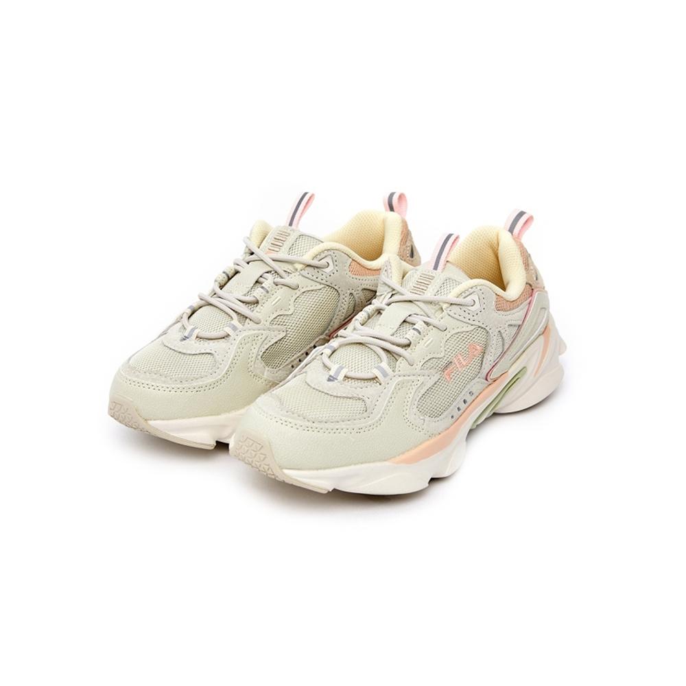 FILA SKIPPER 中性慢跑鞋-粉 4-J528U-263