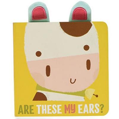 Are These My Ears? 這是小牛的耳朵嗎?硬頁書