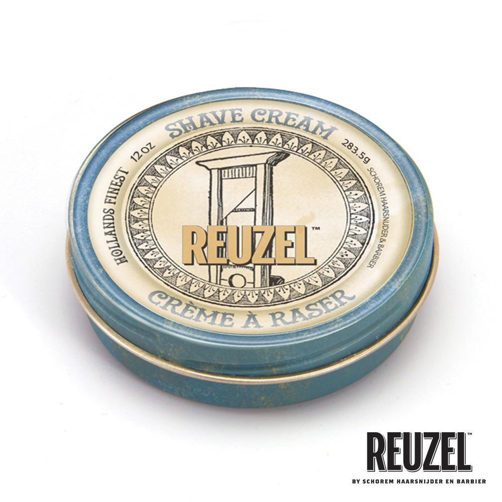 REUZEL Shave Cream清新舒爽刮鬍膏283.5g