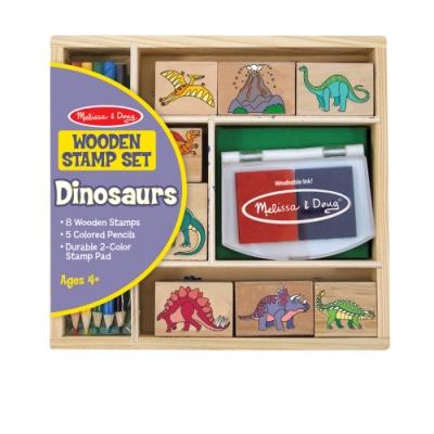 美國瑪莉莎 Melissa & Doug 勞作印章 - 恐龍組合