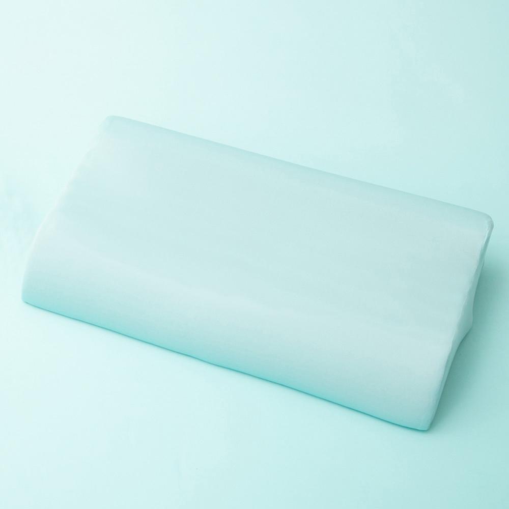 美國NINO1881 台灣製冰涼紗涼感透氣舒眠記憶枕-2入