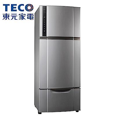 [無卡分期12期]TECO 東元 543公升 變頻三門冰箱(R5552VXLH)