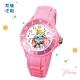 DISNEY迪士尼 Dumbo小飛象中型運動彩帶錶35mm粉紅色 product thumbnail 1