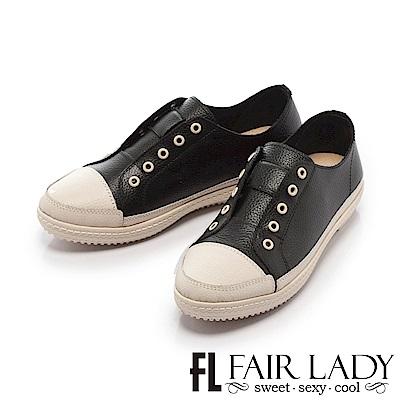 Fair Lady Soft Power軟實力潮流雙色休閒鞋 黑