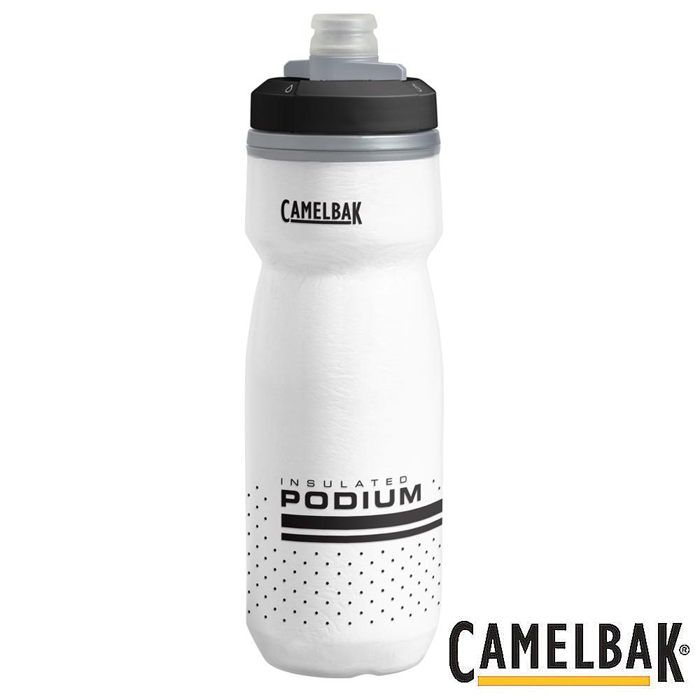 《CAMELBAK》保冷噴射水瓶 白 620ml  (CB1874101062)