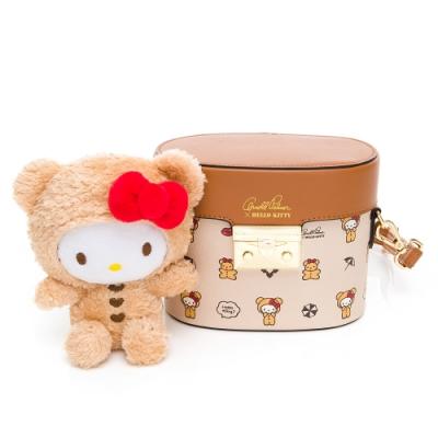 Hello Kitty聯名- 水桶包 SPOIL / 熊愛你系列-咖色
