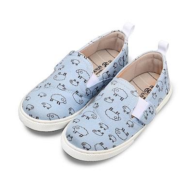 BuyGlasses 可愛逗趣!SHEEP兒童懶人鞋-藍