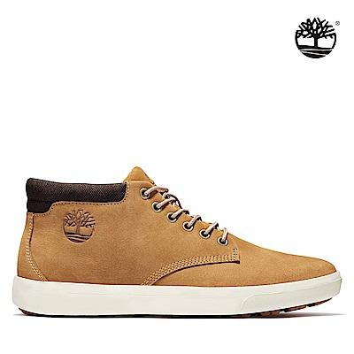 Timberland 男款小麥黃磨砂革休閒靴|A1Z3K