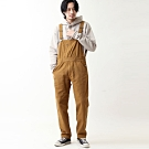 吊帶褲連身工裝褲素色條紋(7色) -ZIP日本男裝