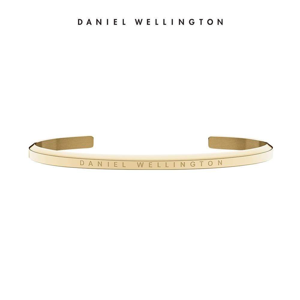 【Daniel Wellington】官方直營 Classic Bracelet 經典簡約手環-香檳金L DW手環
