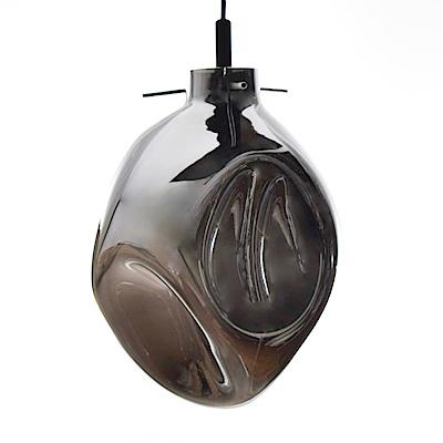 bnatural 工吹製電鍍銀玻璃吊燈 BNL00115