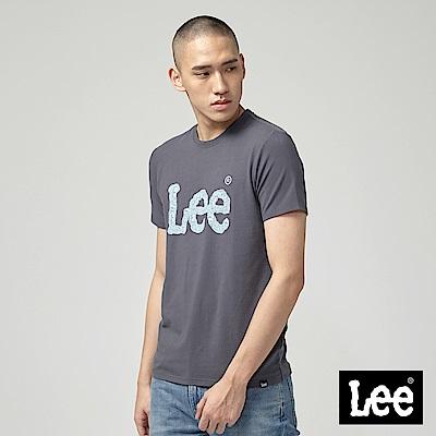 Lee ART IS EVERYTHING LOGO短袖圓領T恤-深灰