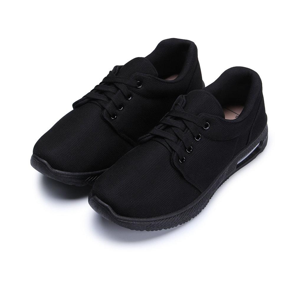 BuyGlasses 極速對決氣墊女款慢跑鞋-全黑