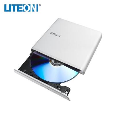 LITEON ES1 8X 最輕薄外接式DVD燒錄機(白)