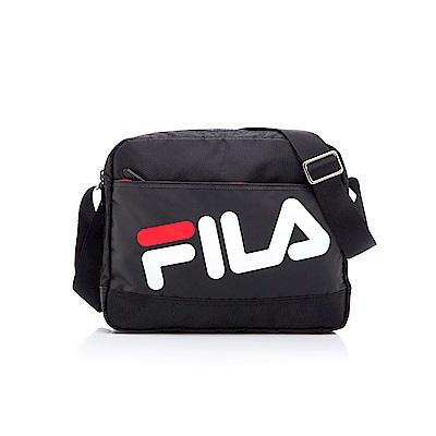 FILA小型斜肩包-黑 BMS-5201-BK