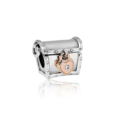 Pandora 潘朵拉 限量版標誌寶盒 純銀墜飾 串珠
