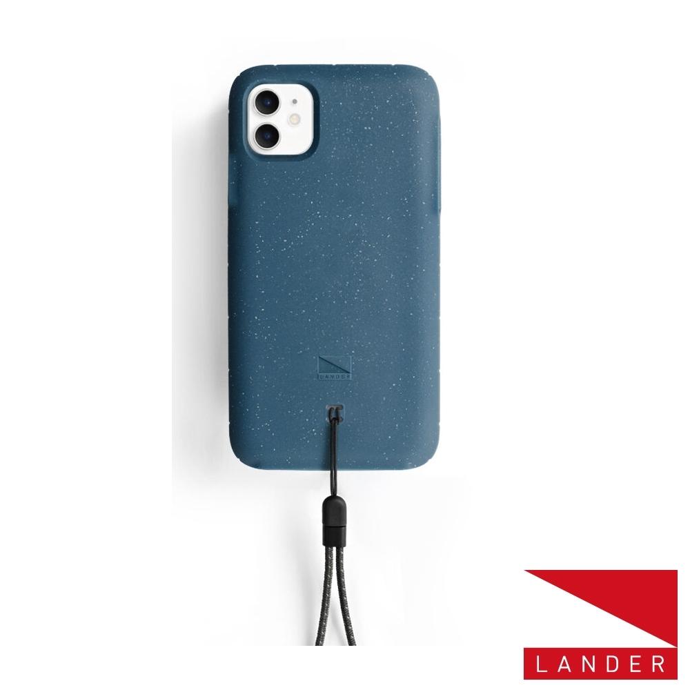 美國 Lander iPhone 11 Moab 防摔手機保護殼 - 海洋藍 (附手繩)
