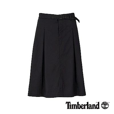 Timberland 女款黑色防潑水打摺工裝裙|B3307
