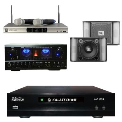 美華HD-889+SUGAR A-500+JBL RM-8+MI-888(伴唱機3TB+卡拉OK組)