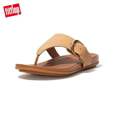 FitFlop GRACCIE TOE POST SANDALS 皮革夾腳涼鞋 女(胭脂裸膚)