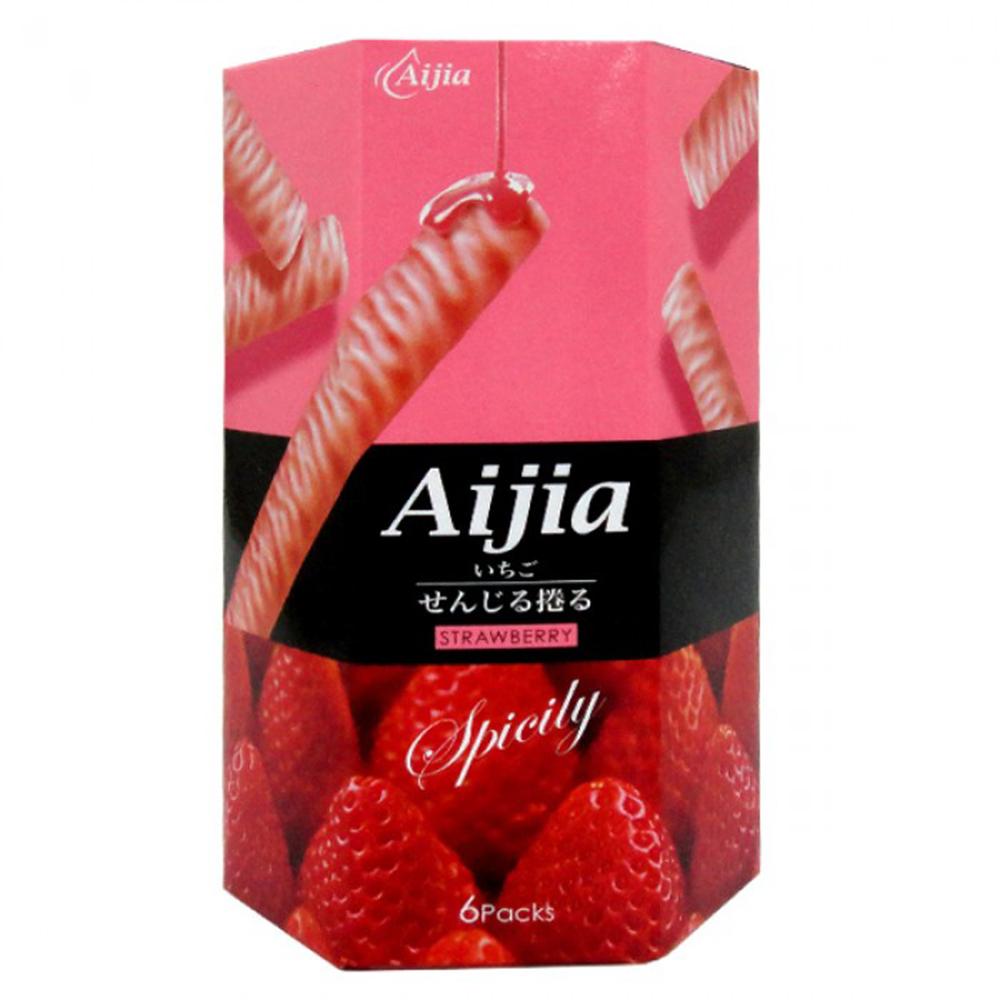 愛加 日式煎捲-草莓巧克力味 (84g)
