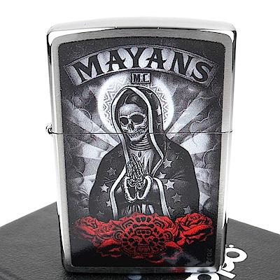 ZIPPO 美系~Mayans M.C.-瑪雅摩托幫圖案設計打火機