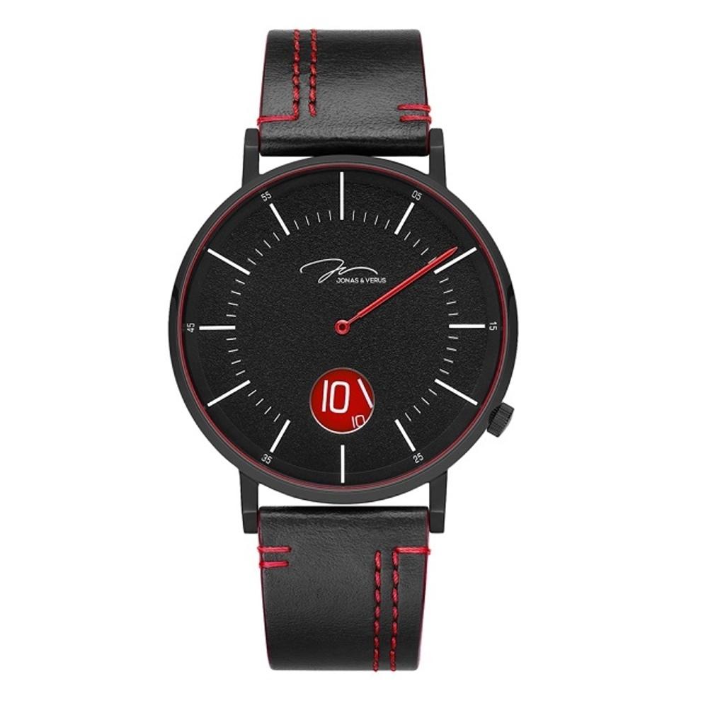 J&V 騎士系列皮帶腕錶41mm(Y02065-Q3.BBBLBR)