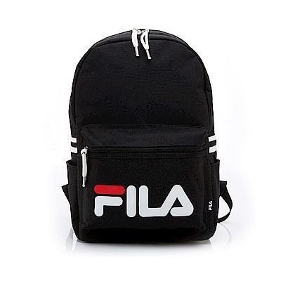 FILA LOGO後背包-黑 BPT-1401-BK