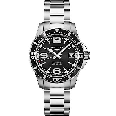 LONGINES 浪琴錶 征服者64小時動力儲存機械錶 L37414566