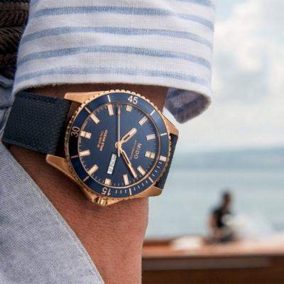 MIDO 美度 Ocean Star 動力儲存80小時 200米潛水機械錶-42mm M0264303604100