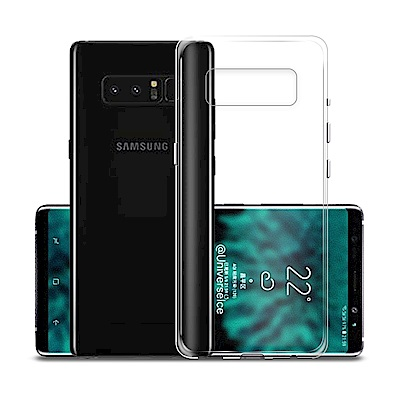 Xmart  For Samsung Galaxy Note 9 超薄清柔水晶保護套